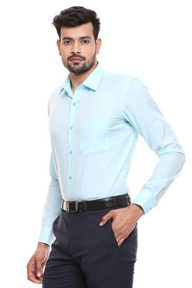 RAYMOND - Petrol Formal Shirts - 2