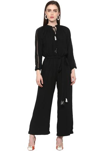 FRATINI WOMAN -  Black Palazzos & Jumpsuits - Main