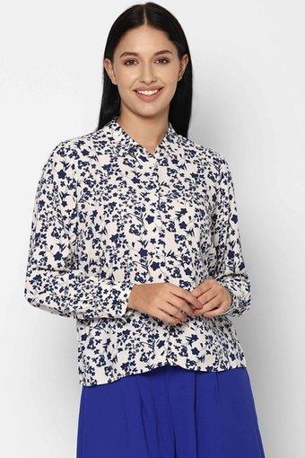 ALLEN SOLLY -  CreamShirts - Main