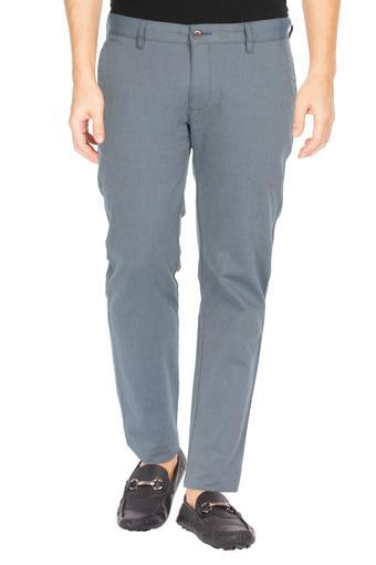 LOUIS PHILIPPE SPORTS -  Grey Casual Trousers - Main