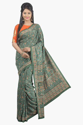 JASHN Womens Printed Saree - 201502455
