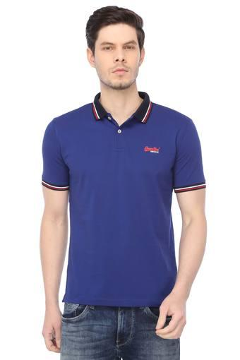 SUPERDRY -  Blue T-shirts - Main
