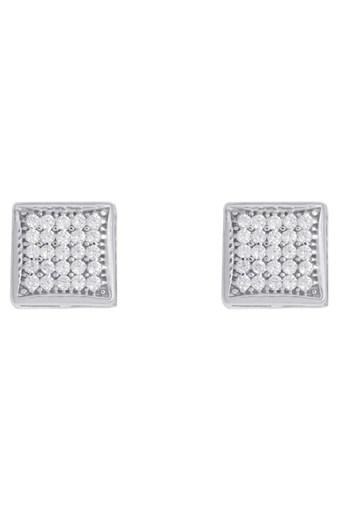 76c85df40 Buy IZAARA Womens Silver Stud Earrings | Shoppers Stop
