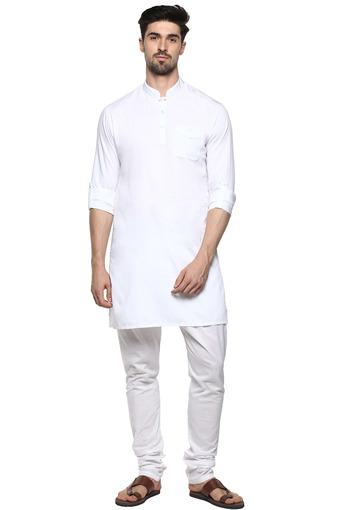 ETHNIX -  White Ethnic Wear - Main