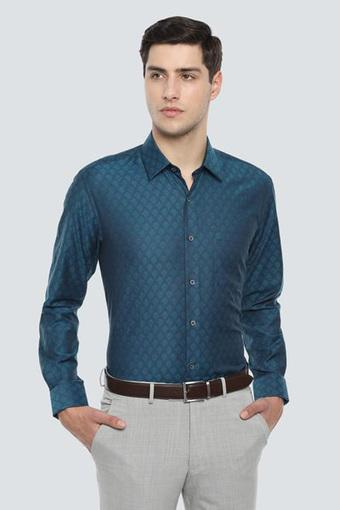LOUIS PHILIPPE -  Blue Formal Shirts - Main