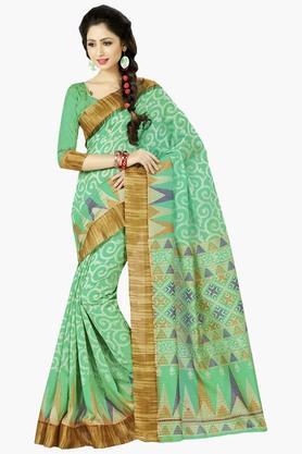 DEMARCAWomens Silk Designer Saree - 202338127