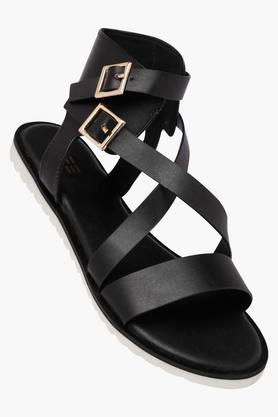 LIFE Womens Casual Wear Buckle Closure Flat Sandals - 202456936_9212