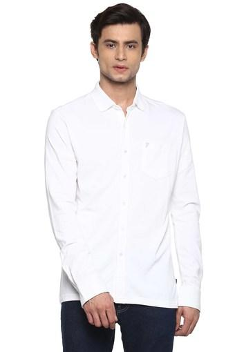 FCUK -  WhiteCasual Shirts - Main