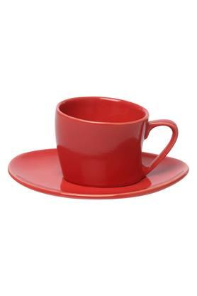 Round Solid Desire Cup and Saucer