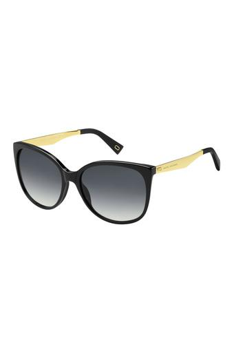 Womens Oversized UV Protected Sunglasses - MARC 203/S 807/90