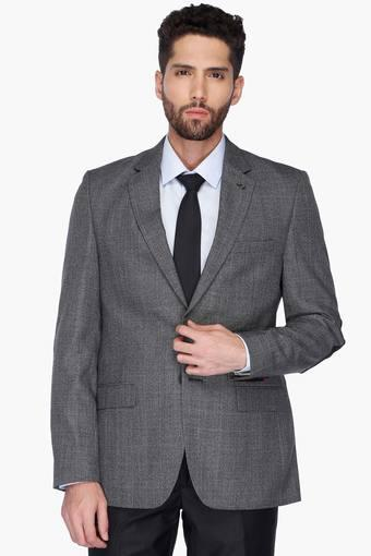 90d04b4ba Buy RAYMOND Mens Notched Lapel Check Blazer