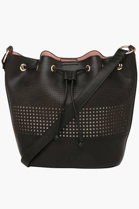 RS BY ROCKY STAR Womens Zipper Closure Sling Bag