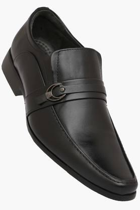 VENTURINI Mens Leather Slip On Formal Loafers  ... - 202336632