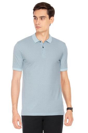 STOP -  Light BlueT-Shirts & Polos - Main