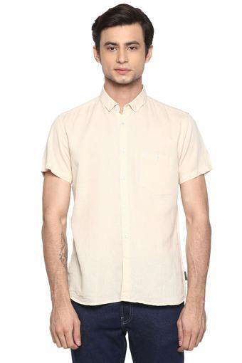 FCUK -  BeigeCasual Shirts - Main