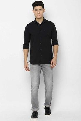 ALLEN SOLLY - BlackCasual Shirts - 3