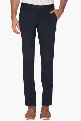LOUIS PHILIPPE SPORTS Mens 4 Pocket Slim Fit Solid Chinos (Sundance Fit)