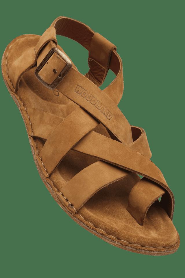 ce97e8846a5f Buy WOODLAND Mens Buckle Closure Sandal