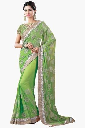 MAHOTSAVDesigner Party Wear Saree available at ShopperStop for Rs.4791