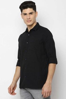ALLEN SOLLY - BlackCasual Shirts - 2