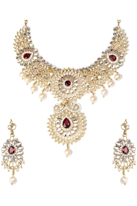 SIATraditional Necklace Set-16528