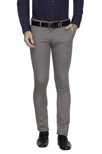 ALLEN SOLLY -  Light GreyCargos & Trousers - Main