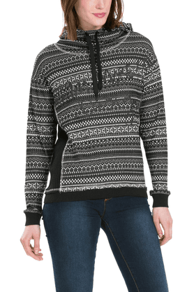 DESIGUALWomen Printed Sweatshirt With Hoodie