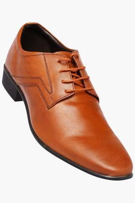 FRANCO LEONE Mens Leather Lace Up Derbys - 202658094