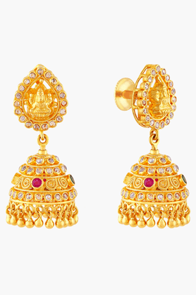 Womens 22 KT Gold Earrings
