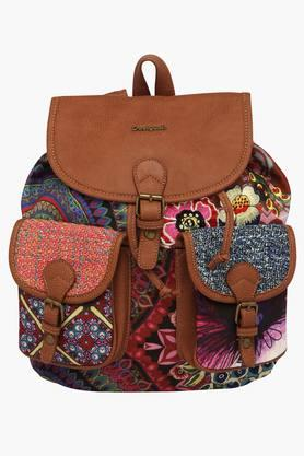 Womens Rucksack Closure Backpack