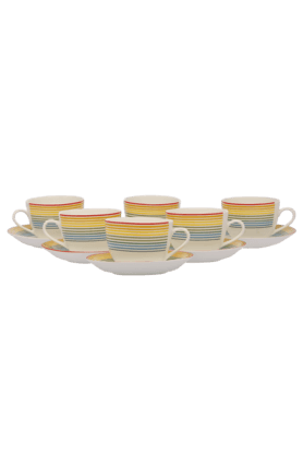 IVYRainbow Cup & Saucer (Set Of 12)