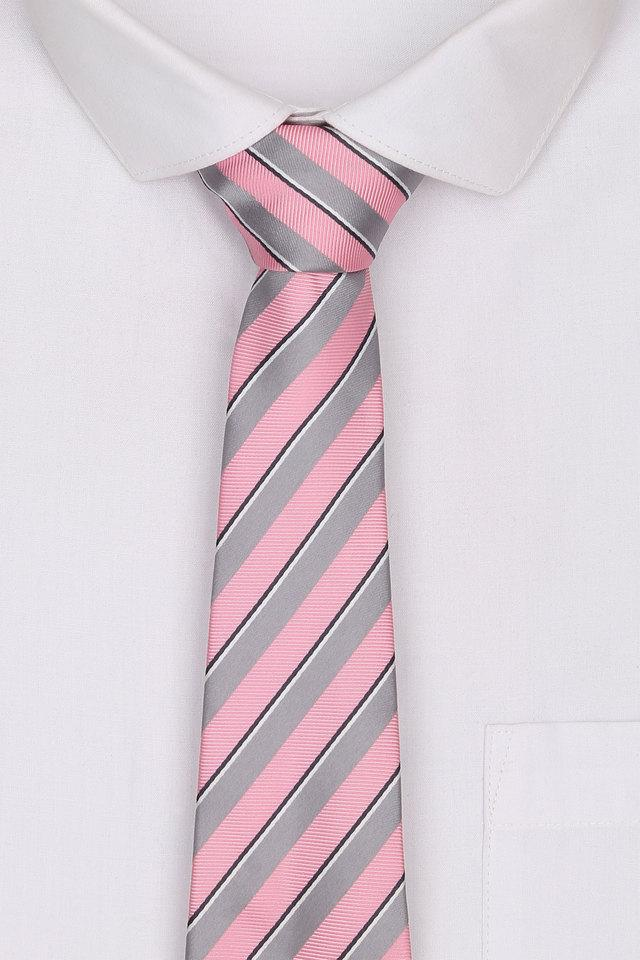 Mens Cotton Stripe Tie