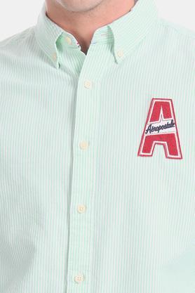 AEROPOSTALE - GreenCasual Shirts - 5