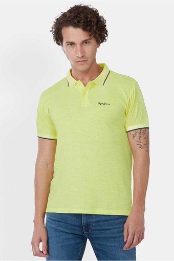 PEPE -  Lime GreenT-Shirts & Polos - Main