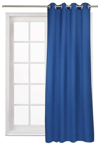 IVY -  Navy Blue Curtains - Main