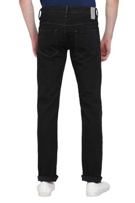 Mens Slim Fit Coated Jeans