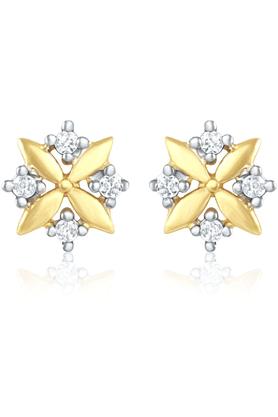 MAHIMahi Gold Plated Earrings With CZ For Women ER1103758G
