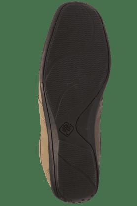 Mens Khaki Nubuk Leather Lace Up Casual Shoe