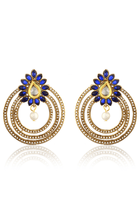 ZAVERI PEARLS Designer Bollywood Earring By - ZPFK1376