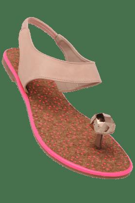 LIFEWomens Casual Slipon Flat Sandal