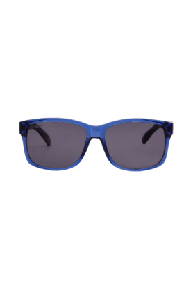 TITAN Eye Plus Glares Blue And Black Full Rim Wayfarer Polarised Sunglasses For Men - 190TLMLTC