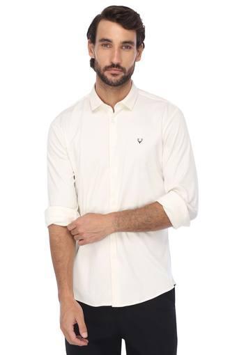 ALLEN SOLLY -  WhiteShirts - Main