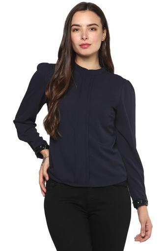 FRATINI WOMAN -  Navy Tops & Tees - Main