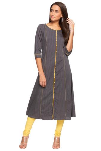 AURELIA -  Grey Kurtas - Main