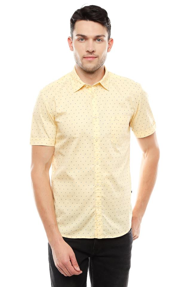 PARX - YellowCasual Shirts - Main