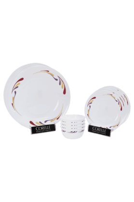 CORELLE India Impressions Celebration 12 Pcs Dinner Set