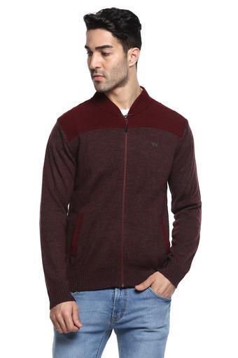 WILDCRAFT -  MaroonWinterwear - Main