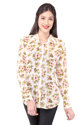 Women Polyester Shirt