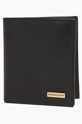 VETTORIO FRATINIMens Leather 1 Fold Wallet - 202000417