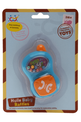 Stop Inflatable Toys - Unisex Huile Baby Mobile Rattle